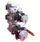 Lightweight manifolds and valves for Wildland vehicles