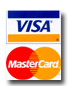 Visa Card and MasterCard logos
