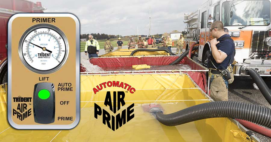 AirPrime in action with apparatus