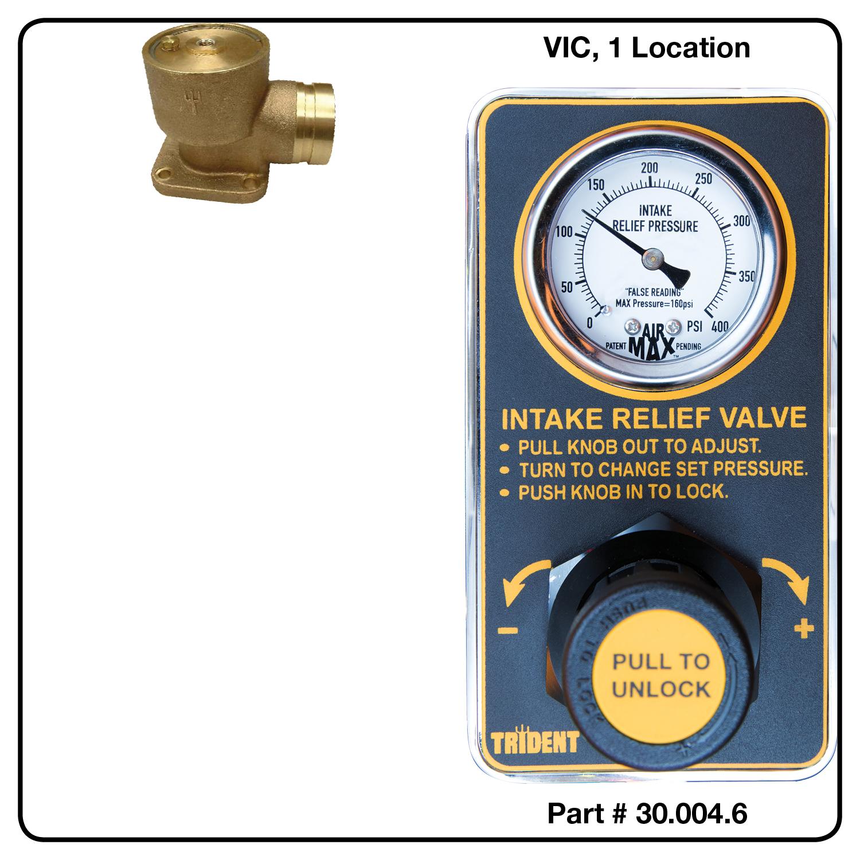 AirMax Relief Valve, VIC, Single Location