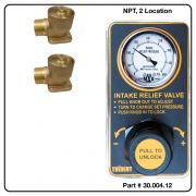 AirMax Relief Valve, NPT, Two Location