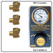 AirMax Relief Valve, NPT, Three Location