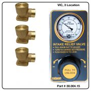 AirMax Relief Valve, VIC, Three Location