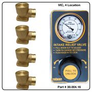 AirMax Relief Valve, VIC, Four Location